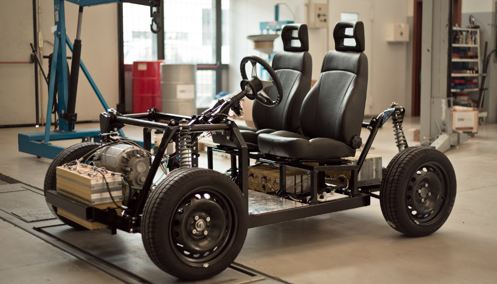 The OSVehicle modular chassis